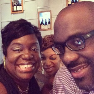 Selfie with my mister & Cherie.