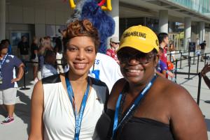 My bestie, Cherie Kirkland and I.  #GramFam