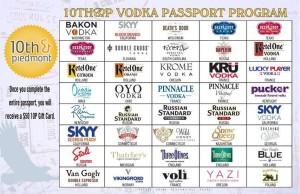 10 & Piedmont Vodka Passport