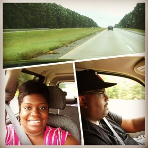 Headed south on I-75 with my 'Mister'